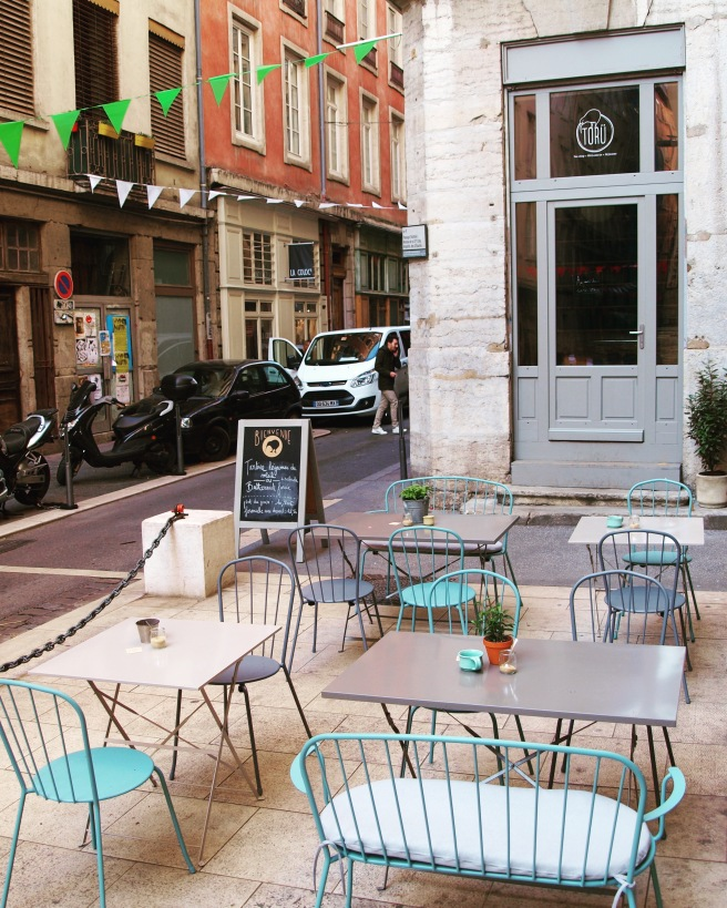 Terrasse Toru tea shop Lyon