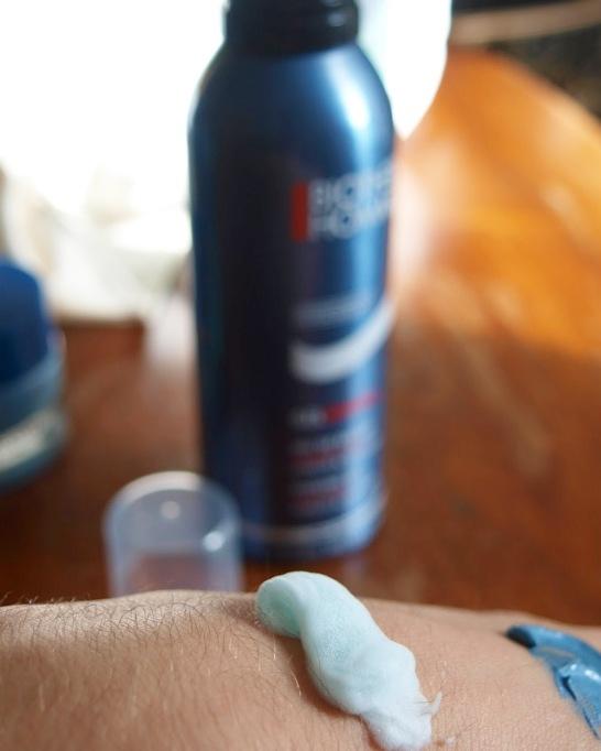biotherm homme gamme avis test blog revue