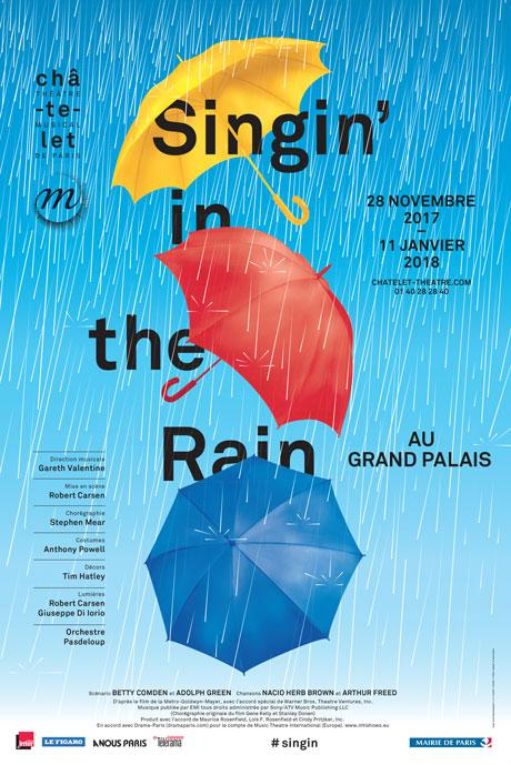 singin in the rain grand palais chatelet theatre