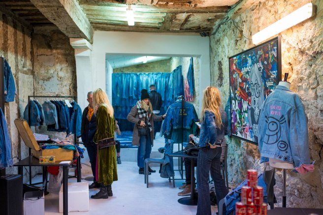 denim pop up street paris