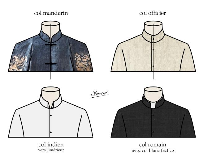 cols chemise