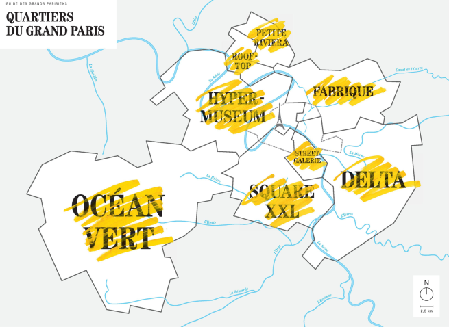 Le guide des grands parisiens